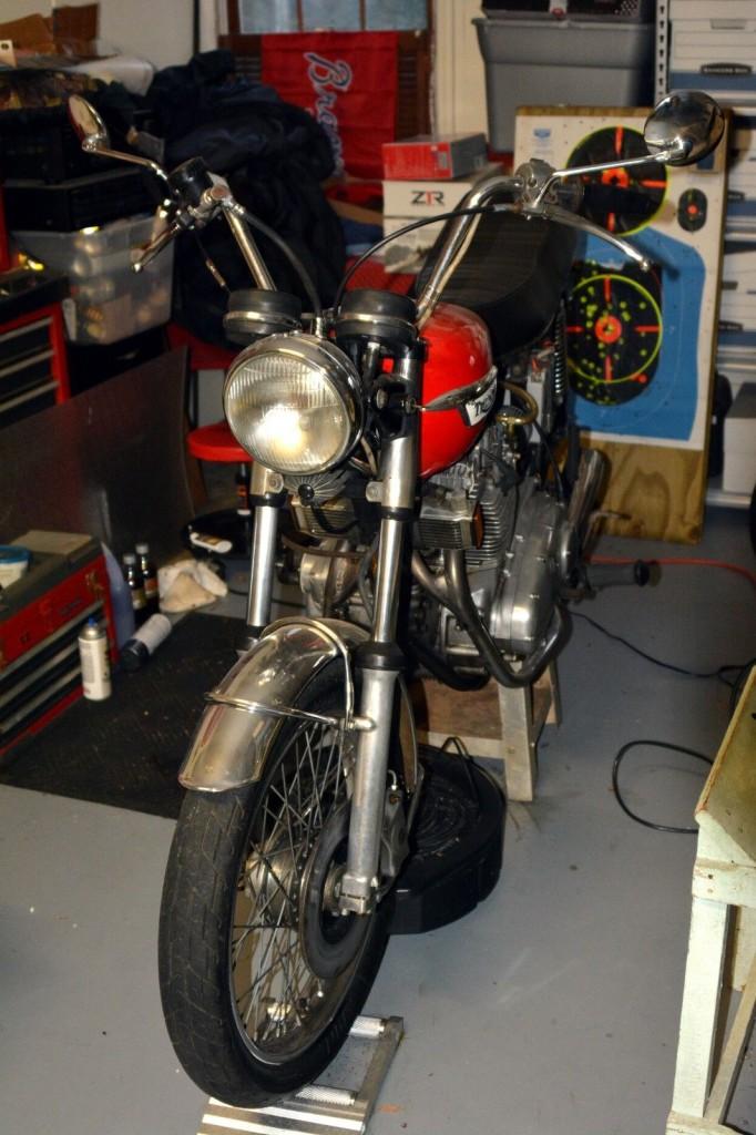 1973 Triumph Trident T150