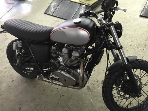 2002 Triumph Bonneville Scrambler custom build for sale