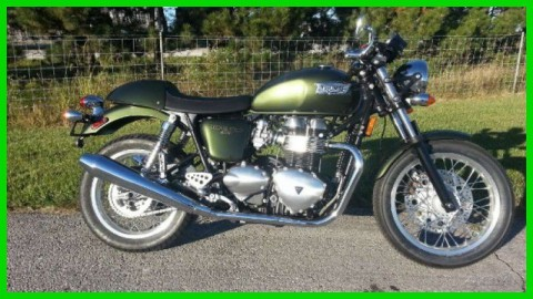 2013 Triumph Thruxton – Brooklands Green New for sale