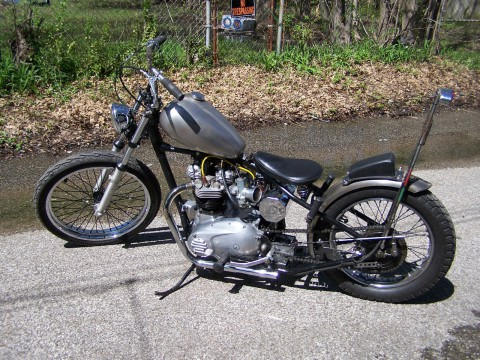 1964 Triumph Bonneville 650 bobber for sale