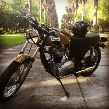 1971 Triumph Bonneville T120R matching numbers for sale