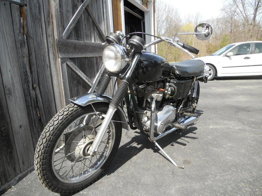 1971 Triumph 650 Bonneville