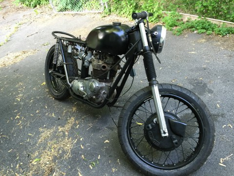 1972 Triumph Bonneville 650 TR6 T120R Cafe Racer Project for sale