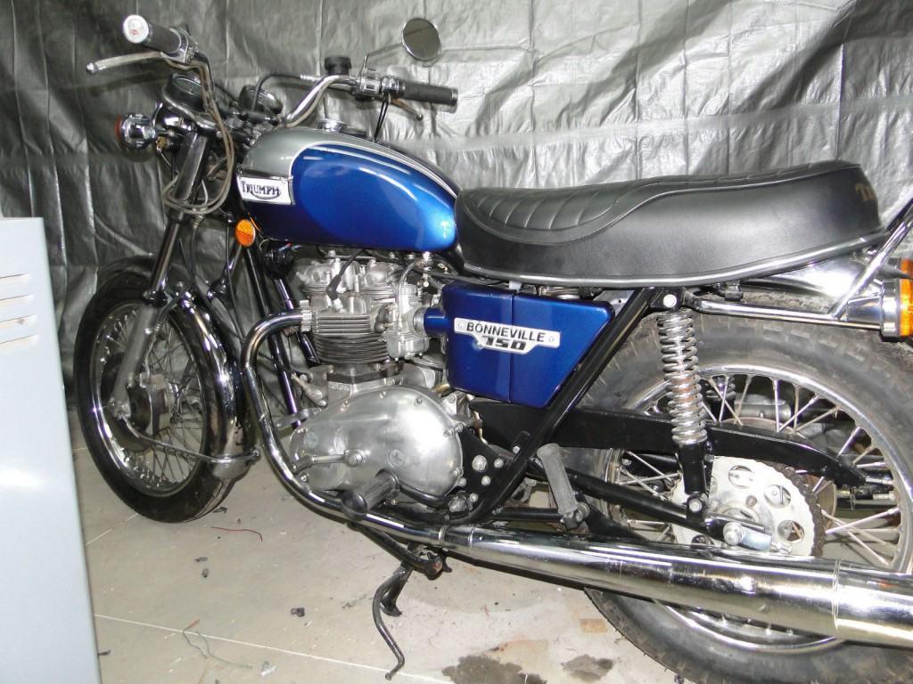 1976 Triumph Bonneville T-140, 750 CC