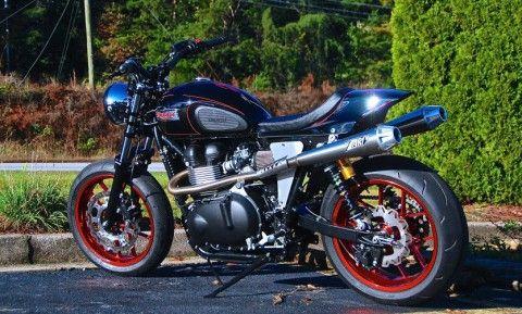 "2014 Triumph Bonneville Custom ""Street Smasher"" for sale"