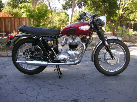 1968 Triumph Bonneville T120R Numbers Matching for sale