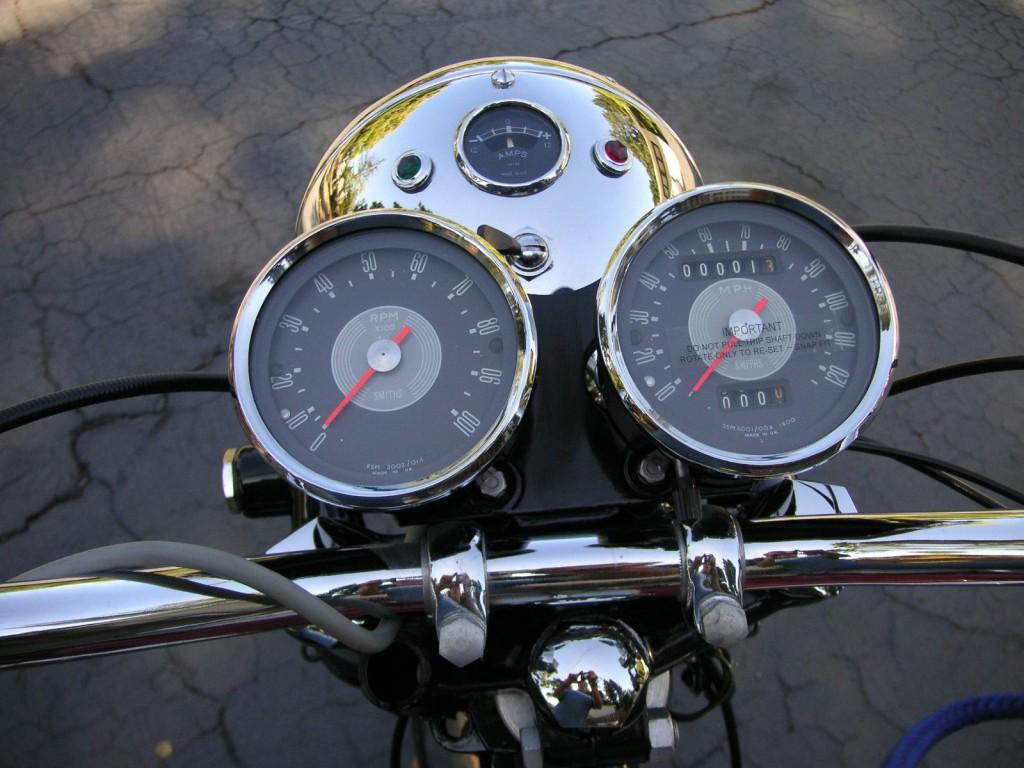 1968 Triumph Bonneville T120R Numbers Matching
