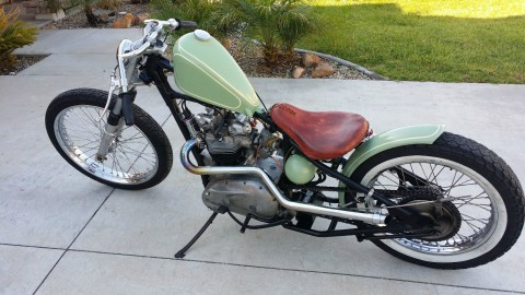 1968 Triumph Bonneville 650 bobber chopper for sale