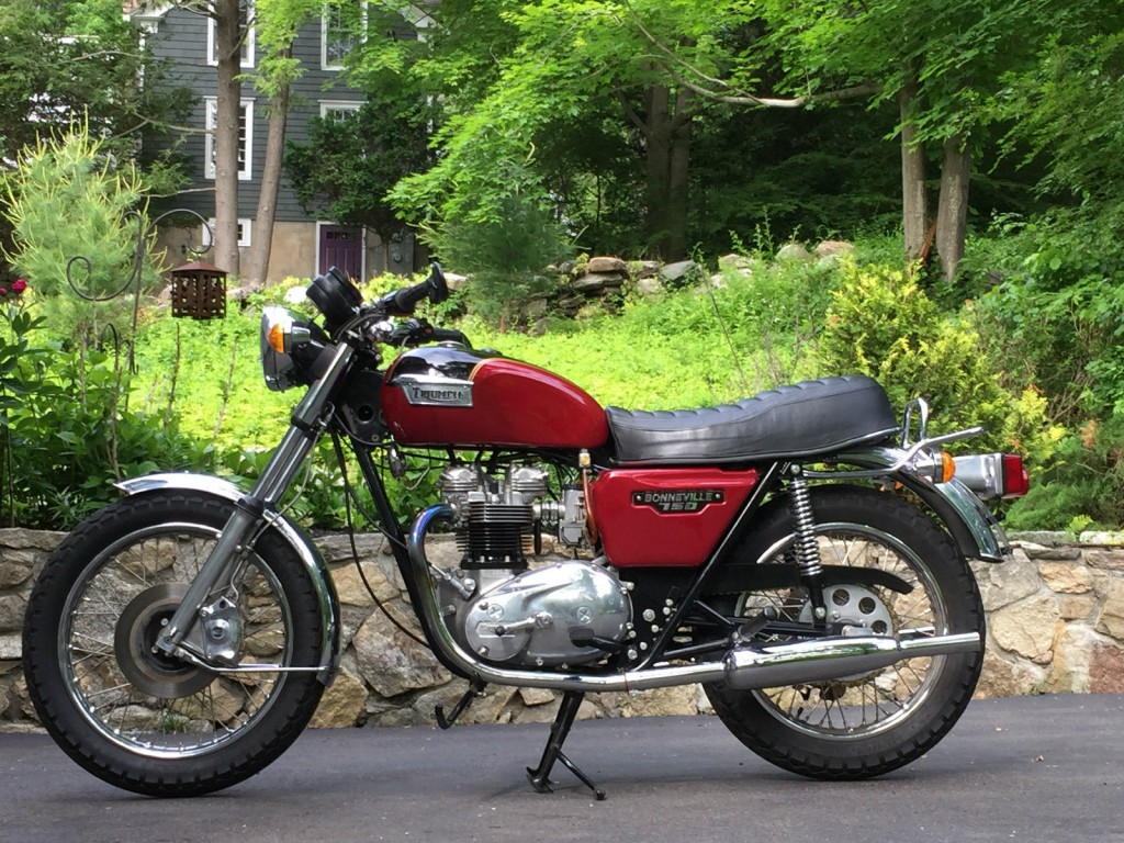 1979 Triumph Bonneville T140E