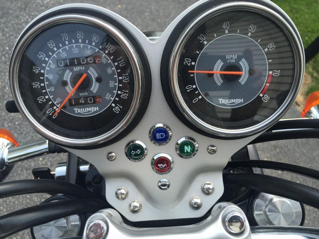 2008 Triumph Bonneville T100