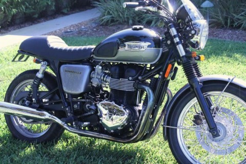 2013 Triumph Bonneville T-100 for sale
