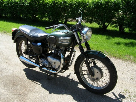 1957 Triumph Tiger T110 for sale