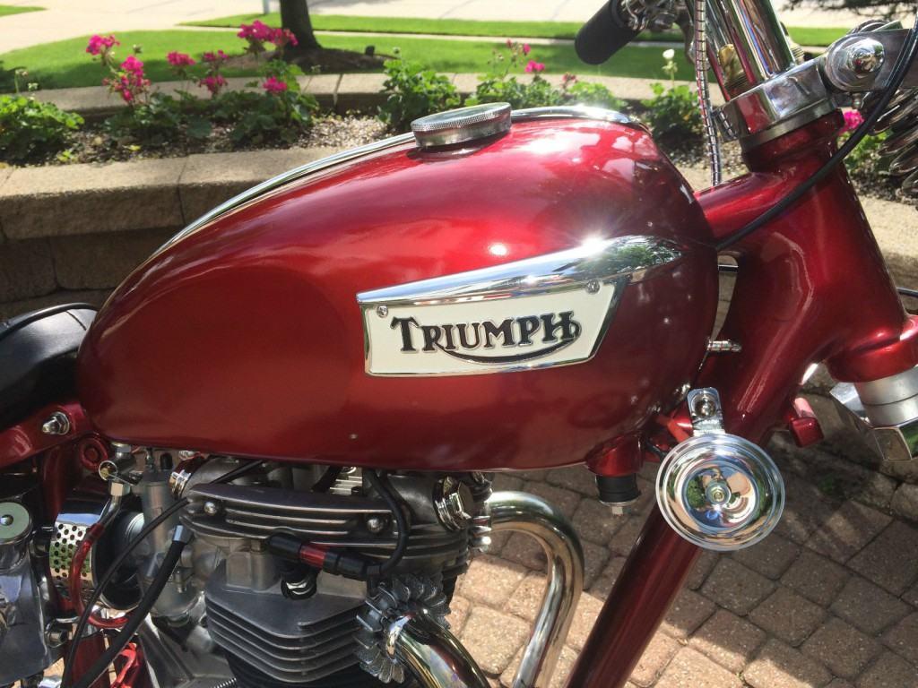 1970 Triumph Trophy TR6-C 650 Old School Custom Chopper