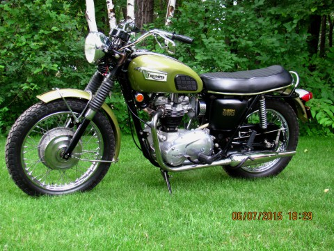 1970 Triumph TR6R Tiger for sale