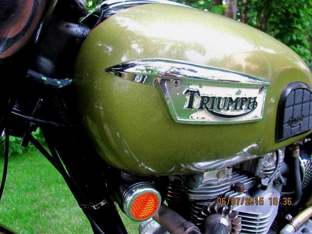 1970 Triumph TR6R Tiger
