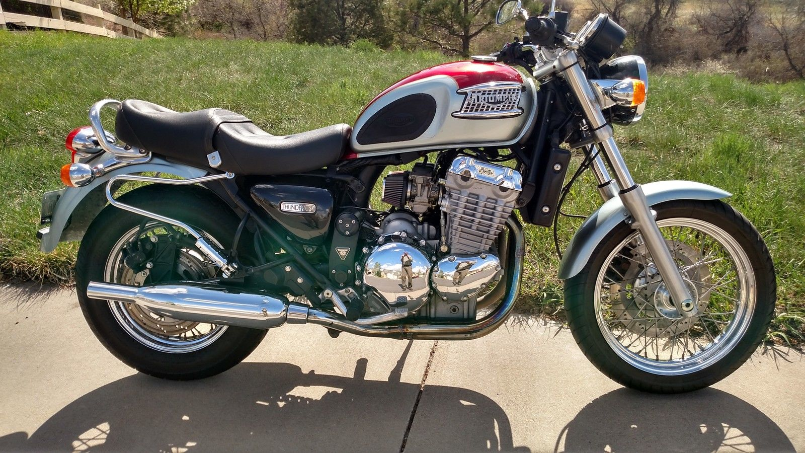 2000 triumph thunderbird 900 tripple for sale. Black Bedroom Furniture Sets. Home Design Ideas