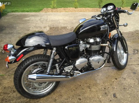 2013 Triumph Thruxton EFI for sale