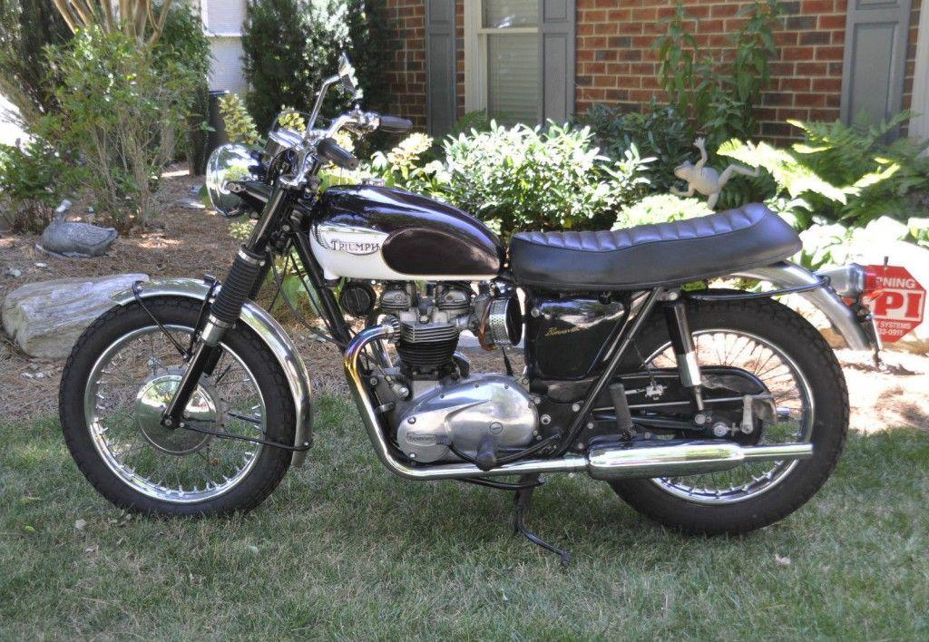 1967 triumph bonneville t120r for sale