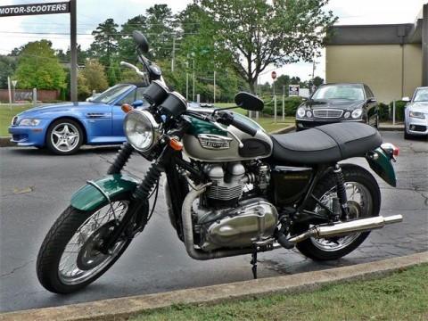 2002 Triumph Bonneville for sale