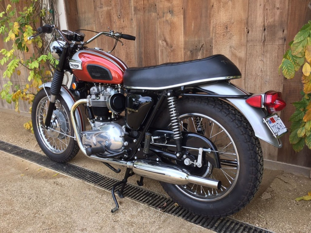 1969 Triumph Bonneville T120