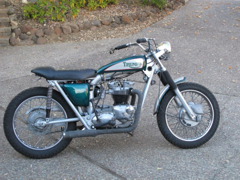 1971 Triumph Trophy 650 – TR6C for sale