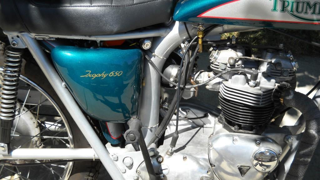 1971 Triumph Trophy 650 – TR6C