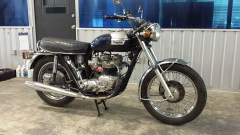 1973 Triumph Bonneville T 140 for sale