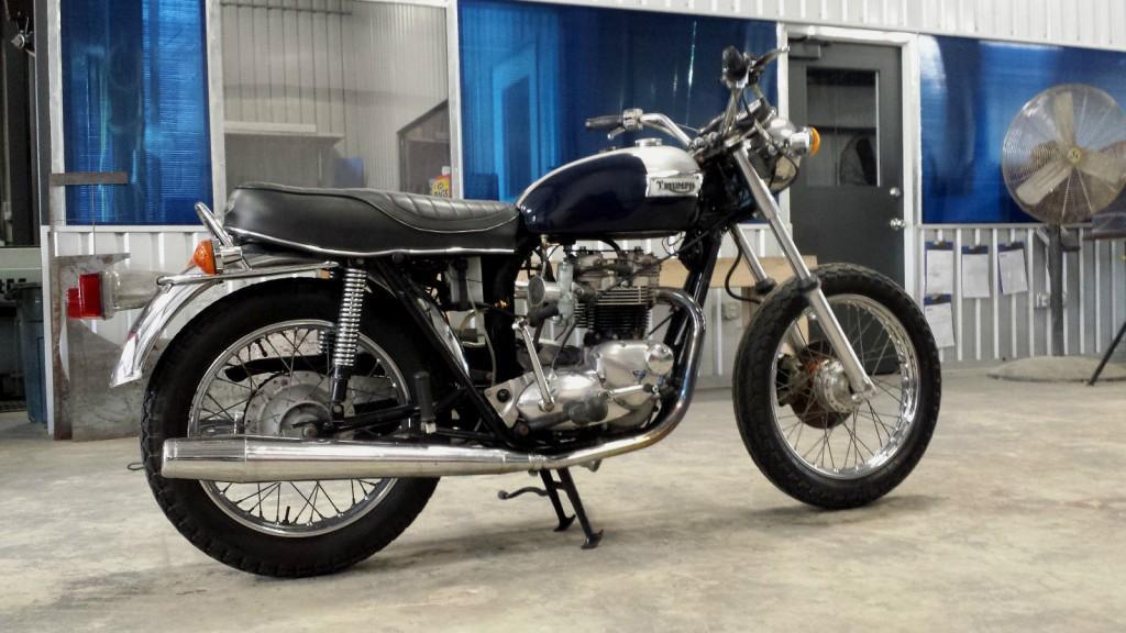 1973 Triumph Bonneville T 140