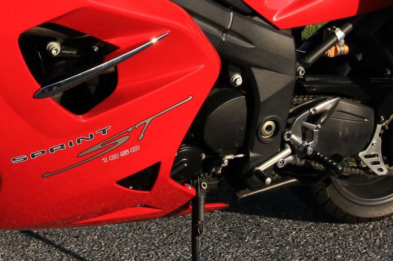 2008 Triumph Sprint ST 1050