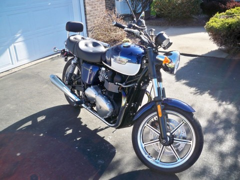 2012 Triumph Bonneville SE for sale