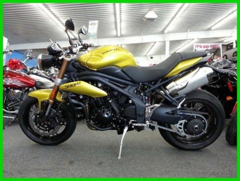 2013 Triumph Speed Triple ABS Sulphur Yellow for sale