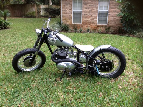 1958 Triumph Bobber (beautiful Bike that Needs Nothing) Model: T100 5TA for sale