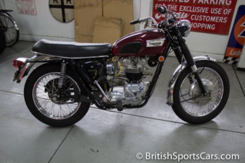 1969 Triumph 650 Trophy TR6C Fully Restored Matching Numbers for sale