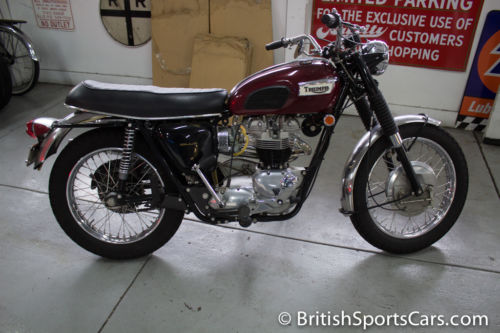 1969 Triumph 650 Trophy TR6C Fully Restored Matching Numbers