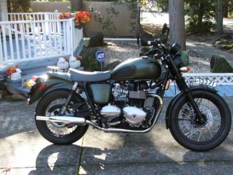 2013 Steve Mcqueen Triumph Bonneville for sale