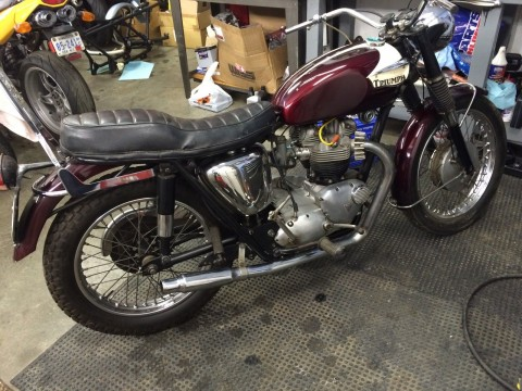 1965 Triumph Bonneville T120SR for sale