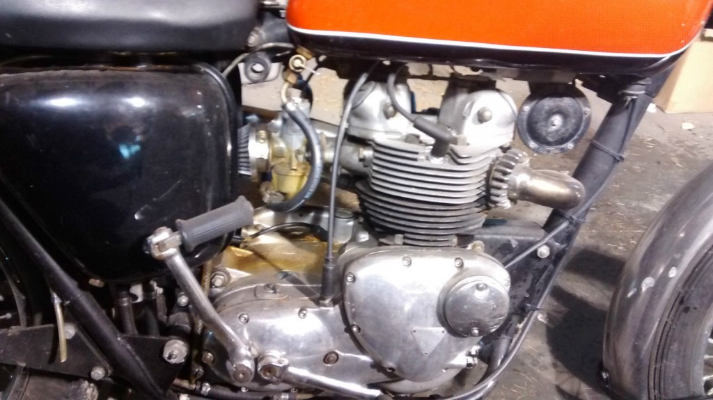 1969 Triumph T100 Trials 550cc Barn Find