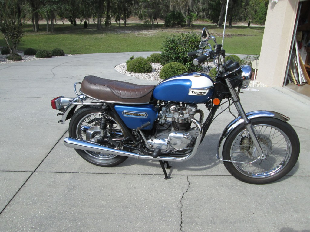 1978 Triumph Bonneville T140V