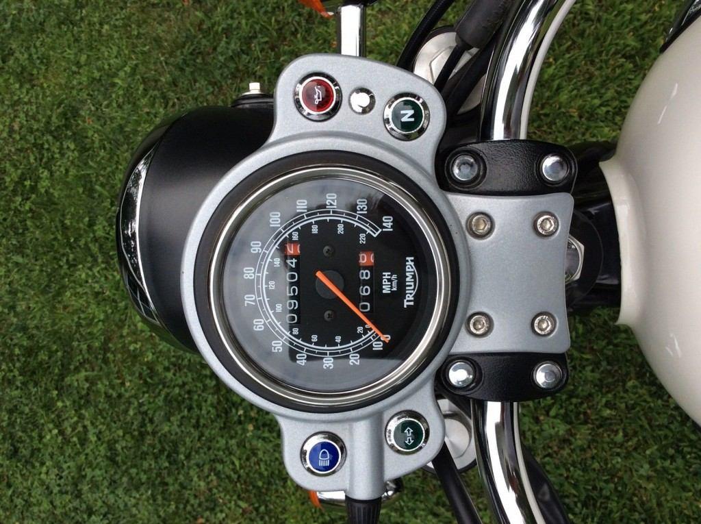 2007 Triumph Bonneville Scrambler 900cc