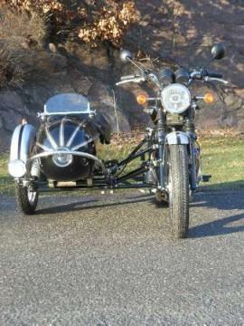 2014 Triumph Bonneville T100 SE w/ Sidecar for sale