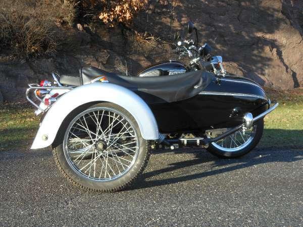 2014 Triumph Bonneville T100 SE w/ Sidecar