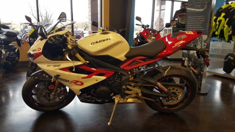 2014 Triumph Daytona 675R Danny Eslick Special Edition #29 of 47 made for sale