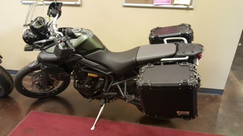 2014 Triumph Tiger 800 Adventure bike for sale
