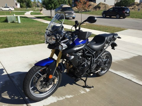 2014 Triumph Tiger 800 for sale