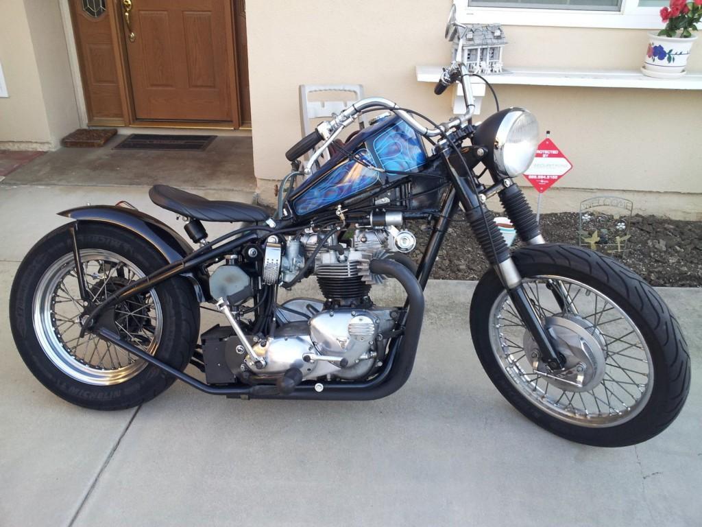 1964 Triumph Bonneville Bobber