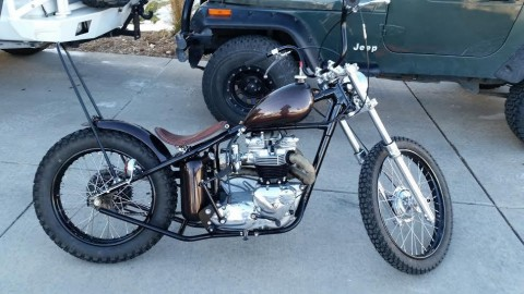 1965 Triumph Bonneville T120 Custom Bobber for sale
