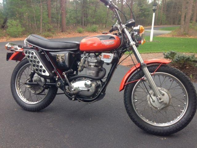 1971 Triumph Blazer 250 SS