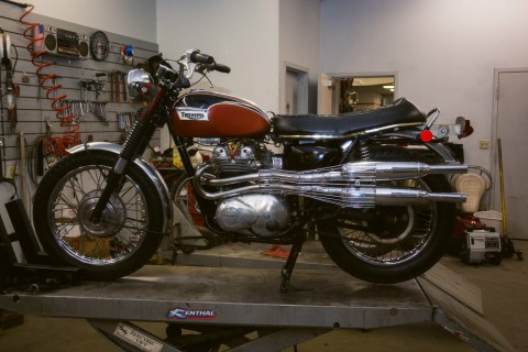 1971 Triumph T100c Trophy for sale