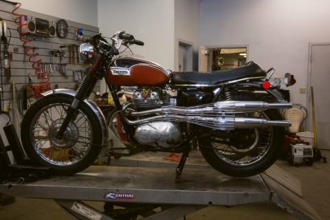 1971 Triumph T100c Trophy for sale