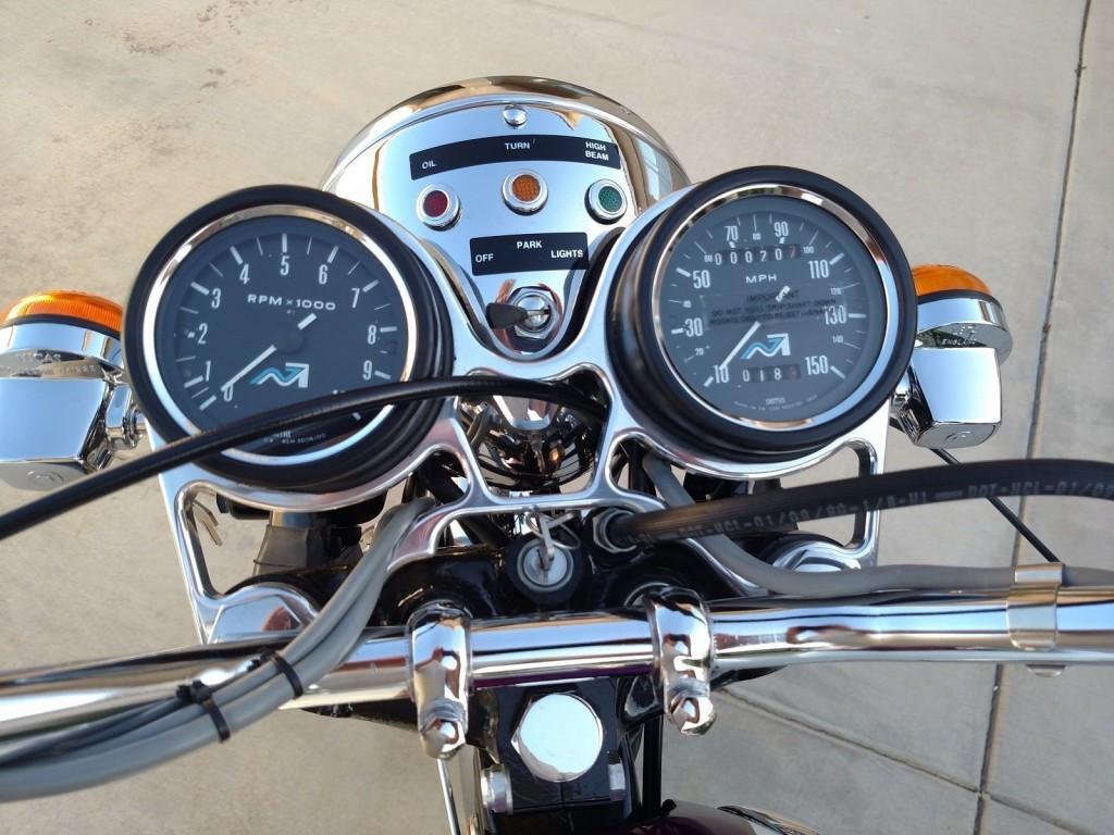 1976 Triumph Bonneville Restomod Motorcycle